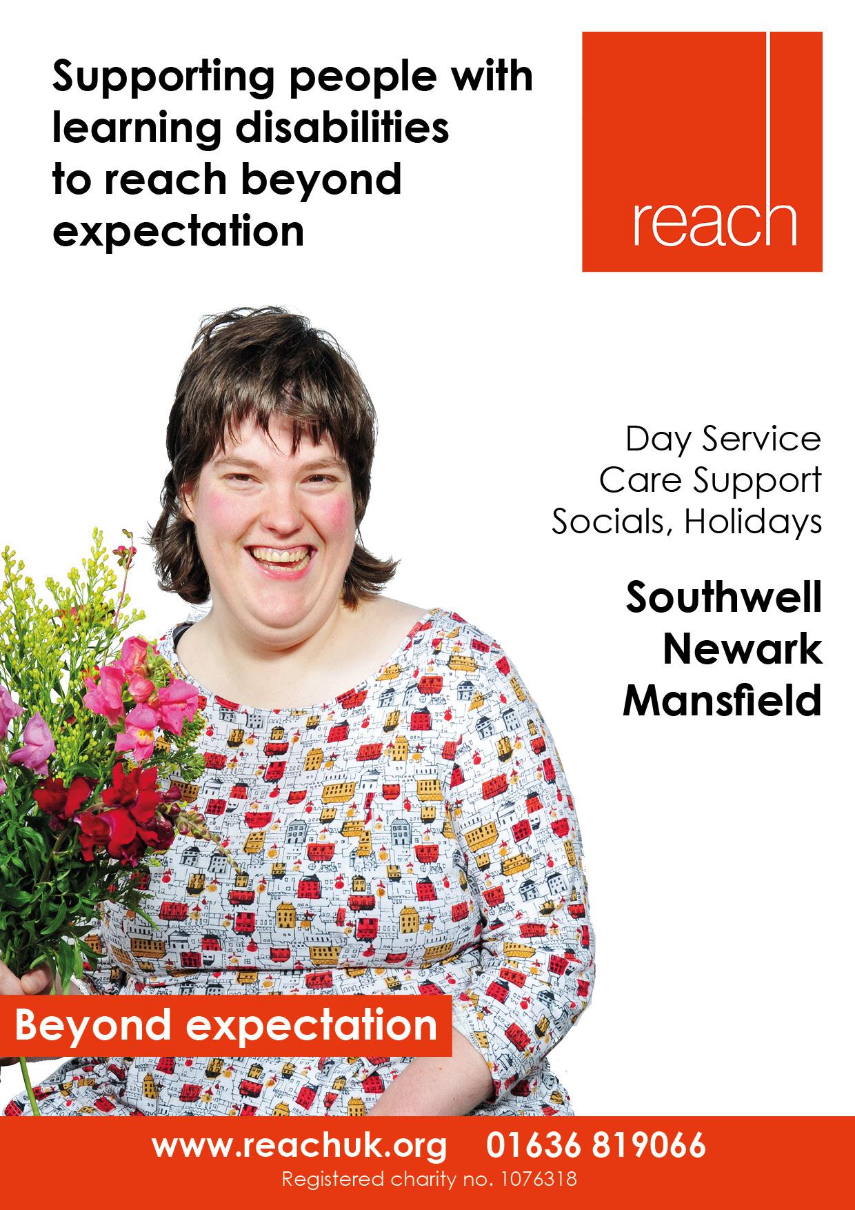 Reach A4 leaflet